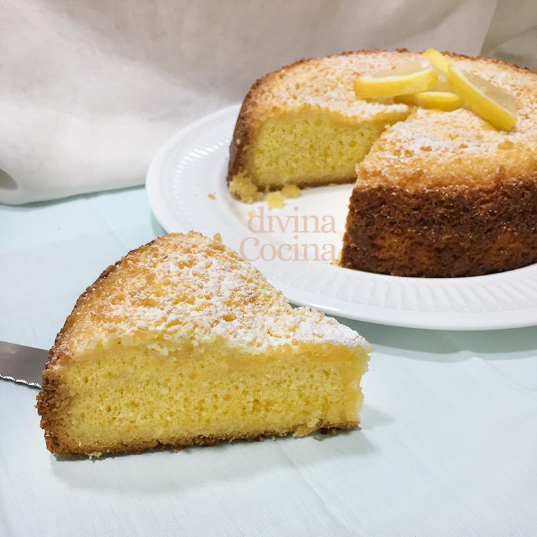 bizcocho sin gluten yogur limon