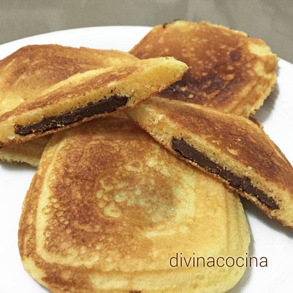 bizcosandwich de chocolate