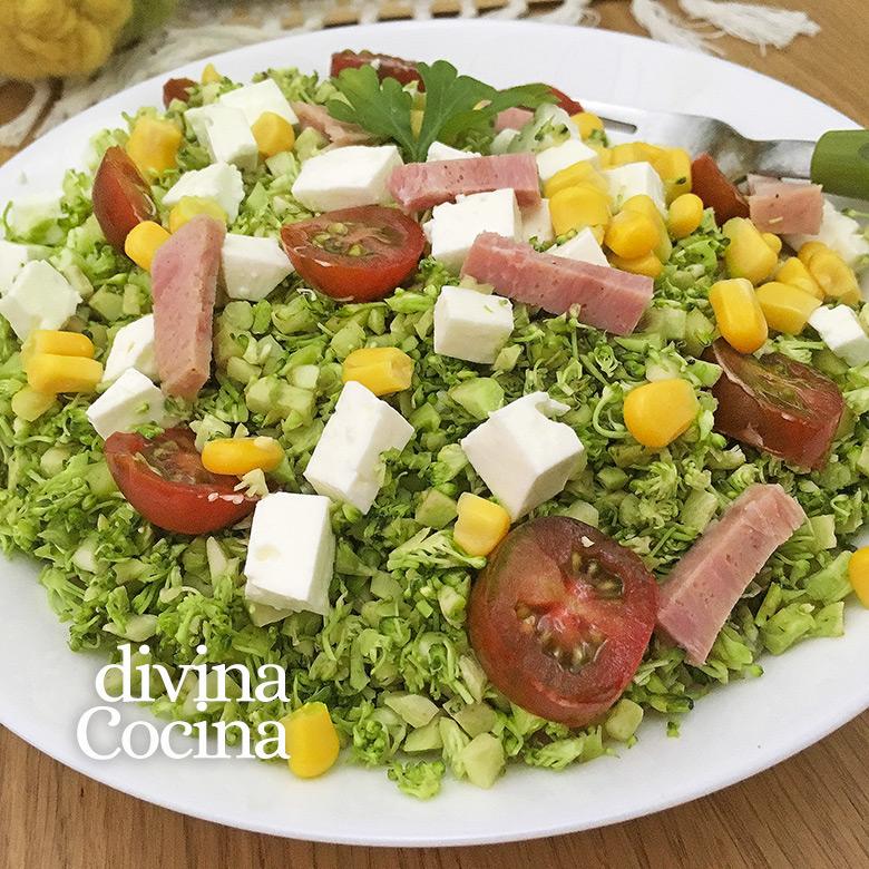 recetas faciles y saludables con brocoli