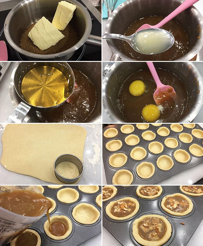 butter tart tartaletas de mantequilla