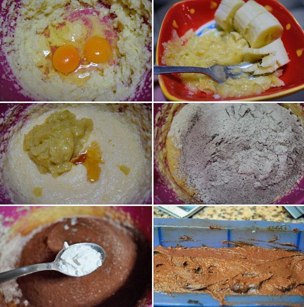 cake-platano-chocolate-paso-a-paso