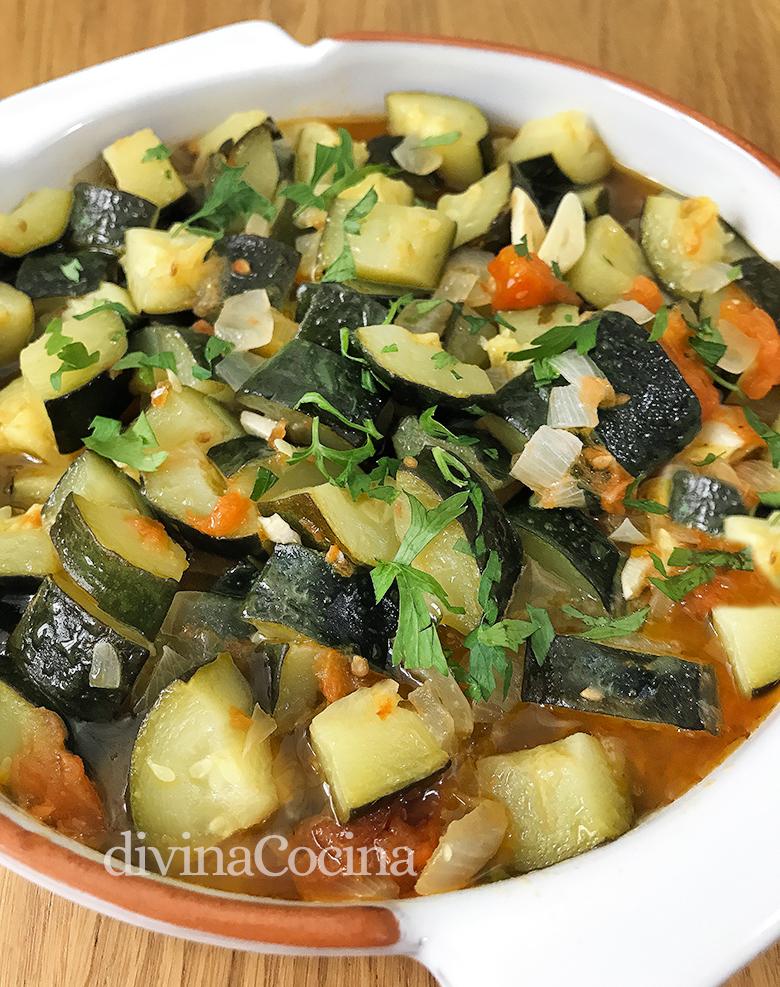 Receta De Calabacines Guisados Fáciles Divina Cocina