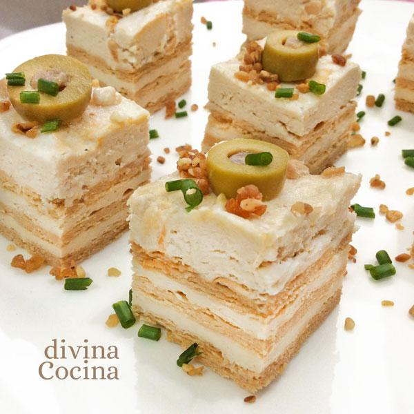 recetas de canapes con pan de molde