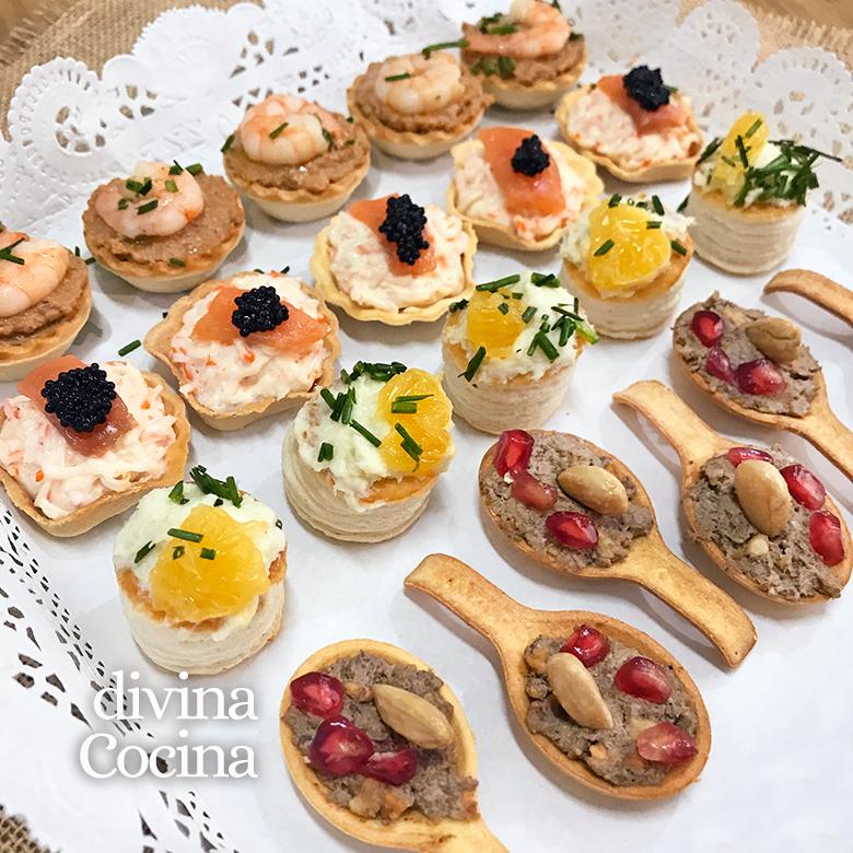 Recetas de canap s fr os f ciles y r pidos divina cocina - Como hacer un canape ...