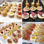 Ideas y recetas de canapés y tartaletas fáciles