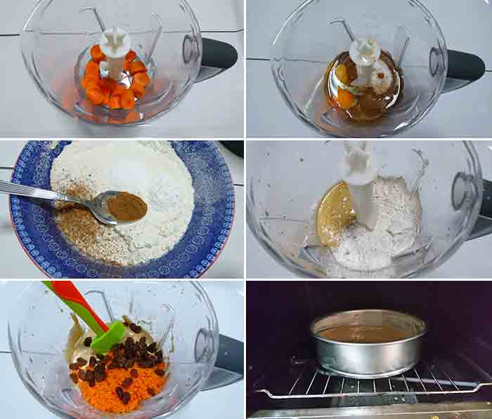 tarta zanahoria chocolate blanco paso a paso