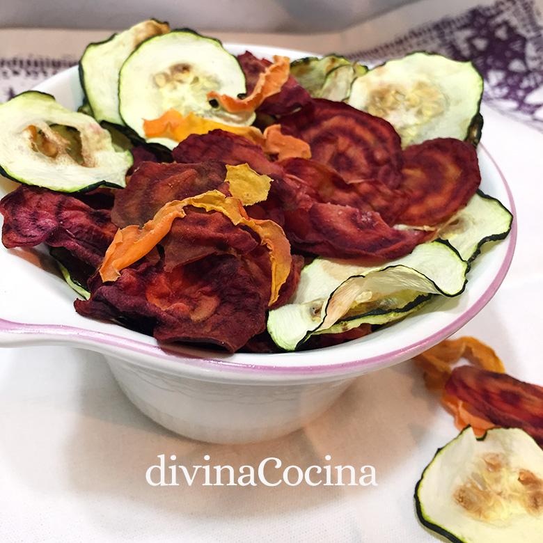Chips De Verduras Caseros Receta De Divina Cocina