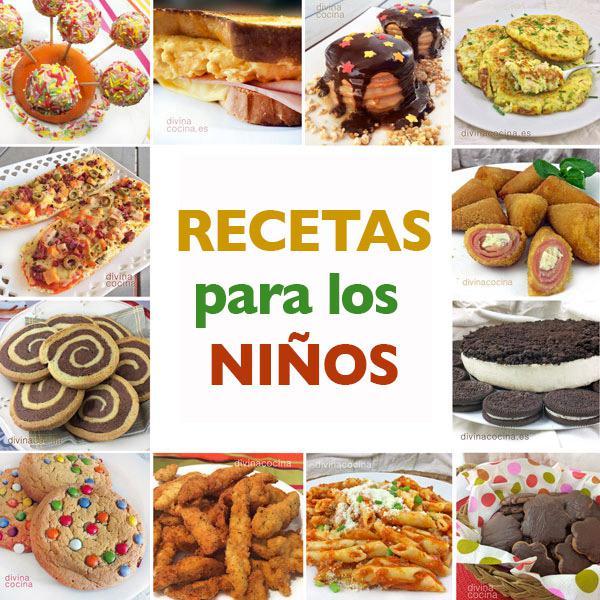 Recetas para ni os y fiestas infantiles divina cocina - Cocina facil para ninos ...