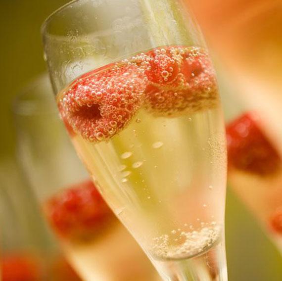 Cóctel de champagne o cava