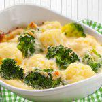 Brócoli y coliflor al horno rápido y fácil