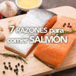 7 beneficios del salmón