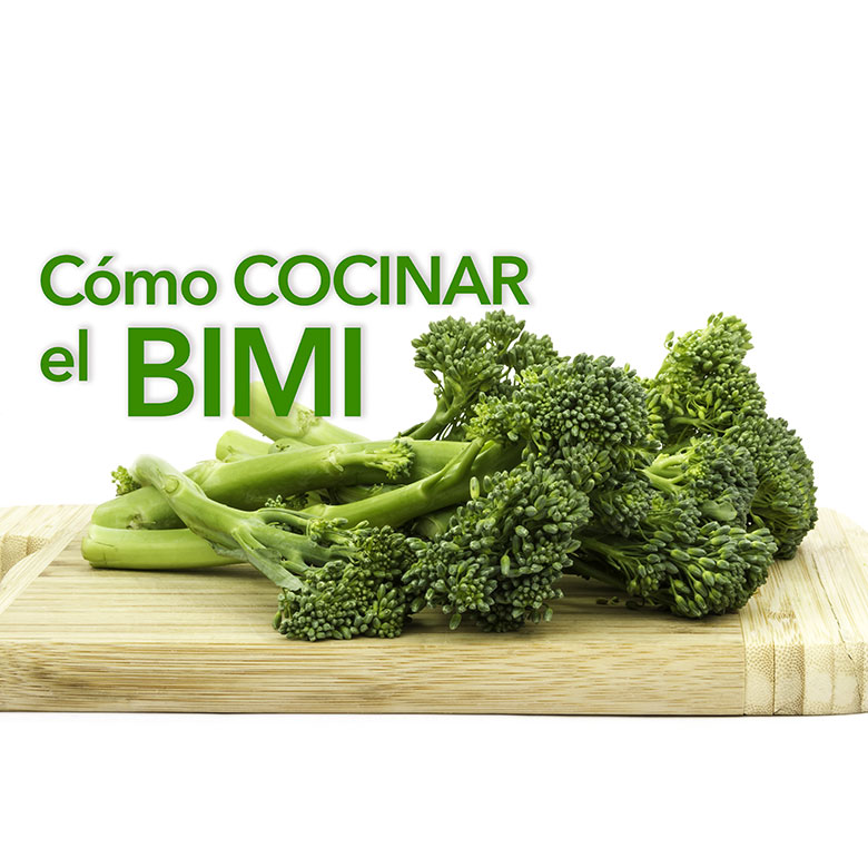 como cocinar bimi broccolini