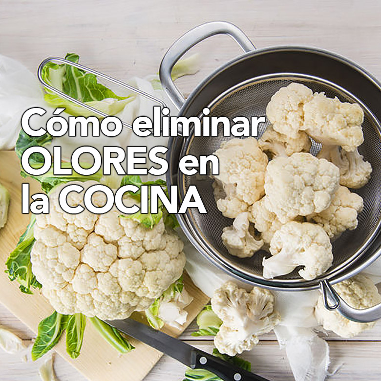como eliminar olores en la cocina