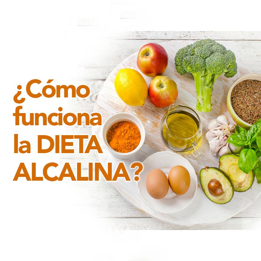 como funciona la dieta alcalina