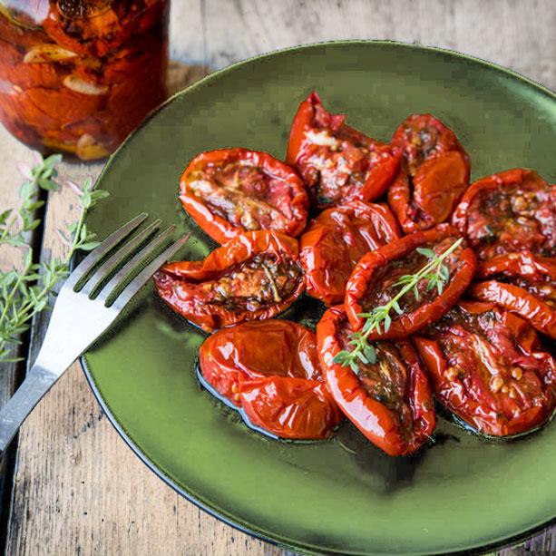 como hacer tomates secos caseros