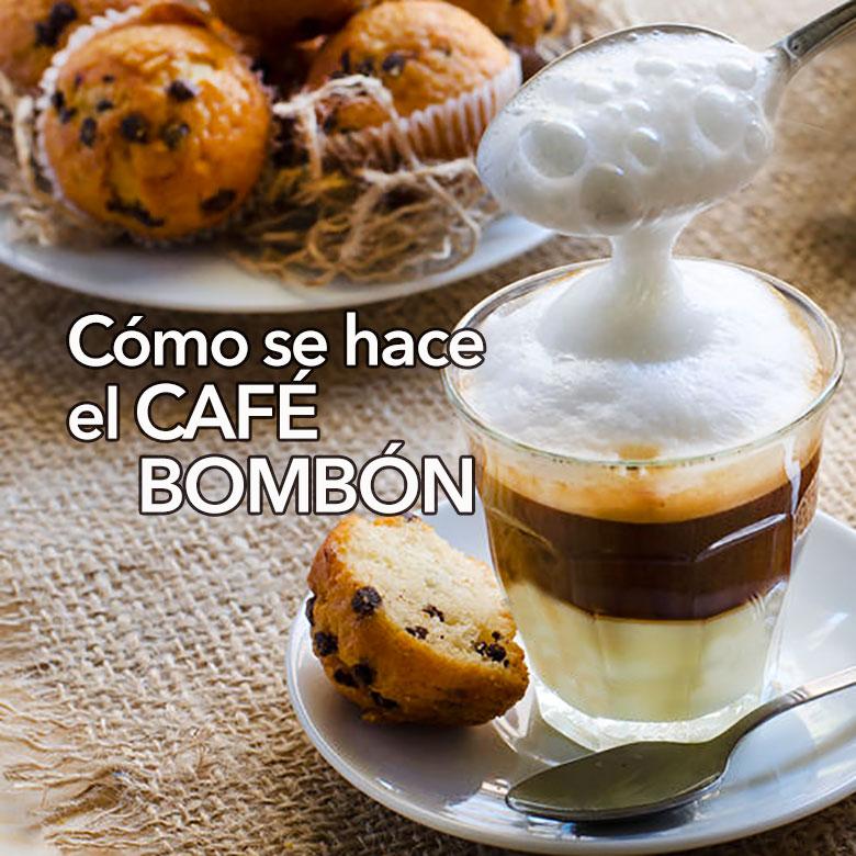 cafe bombon como se hace