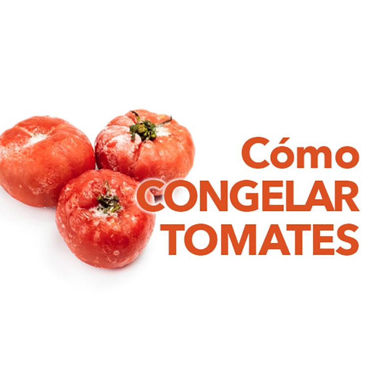 como congelar tomates
