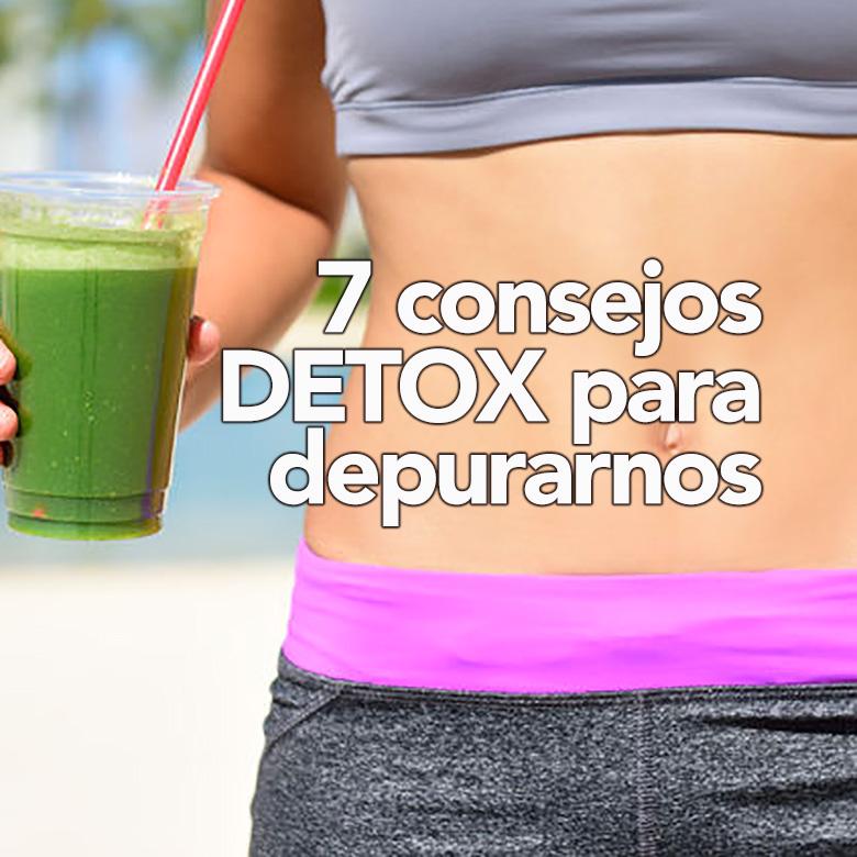 consejos detox para depurarnos