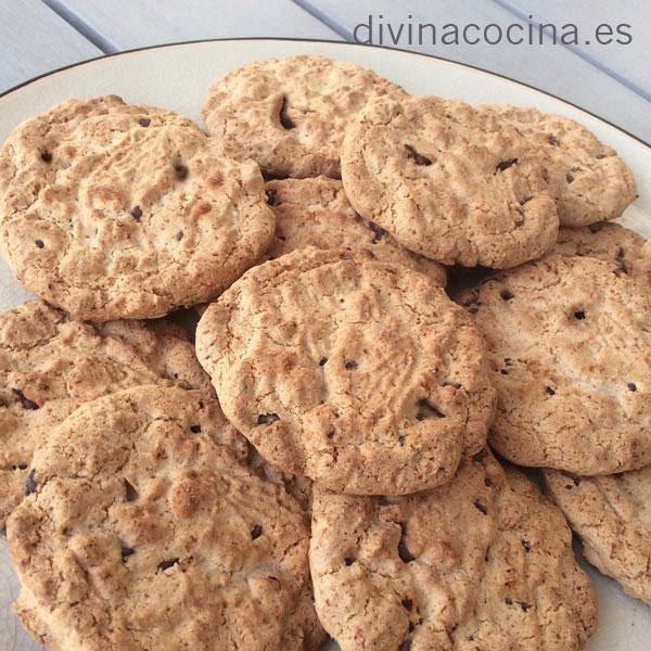cookies de ciruelas y canela