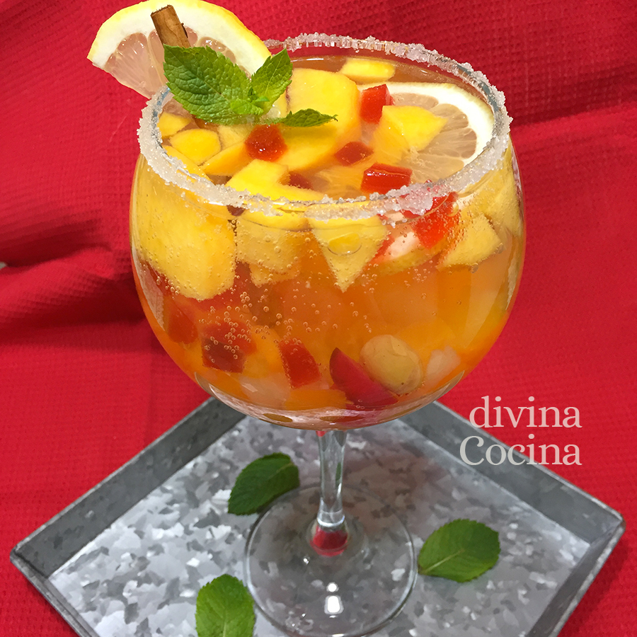 ponche de frutas D