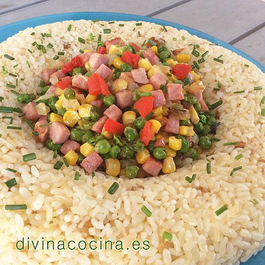 corona de arroz de verano
