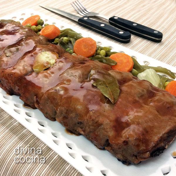 Receta de costillar asado con salsa barbacoa divina cocina for Salsa barbacoa ingredientes