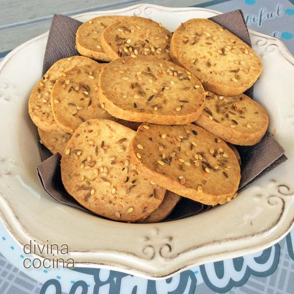 crackers de queso