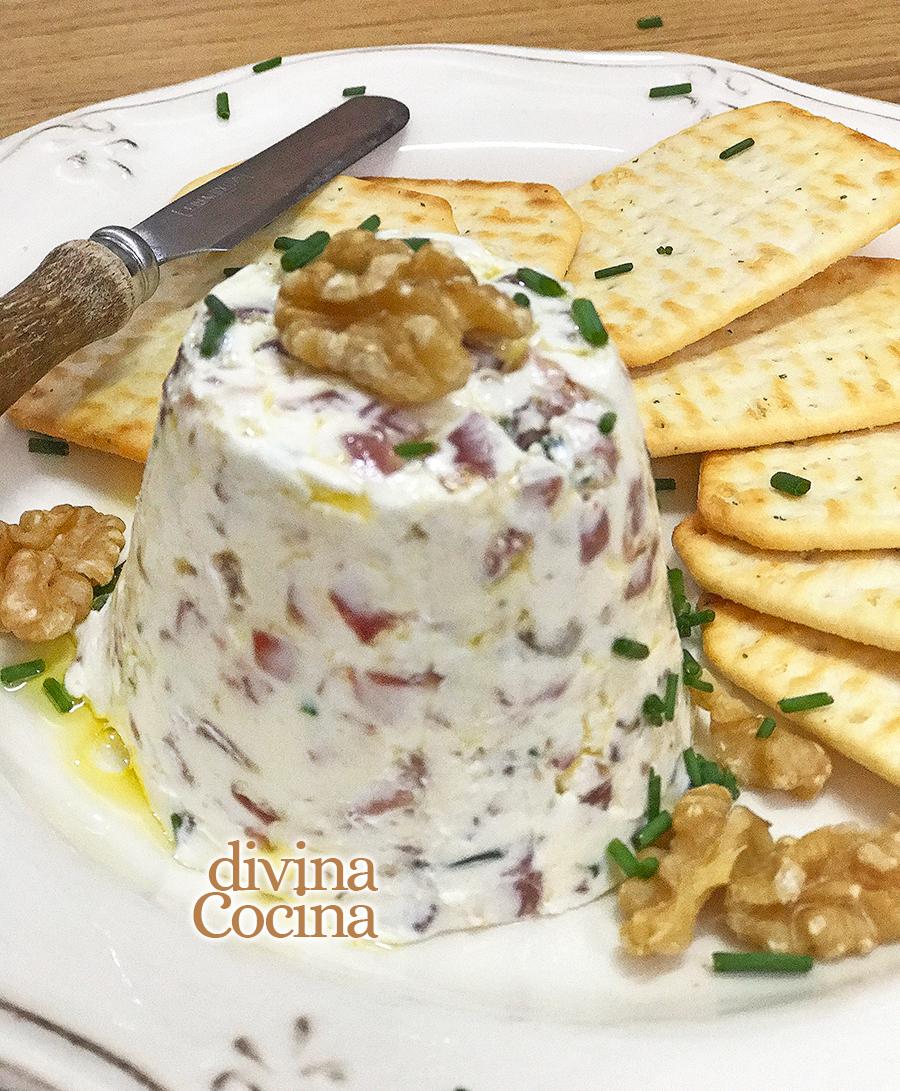 crema de queso para aperitivos 2