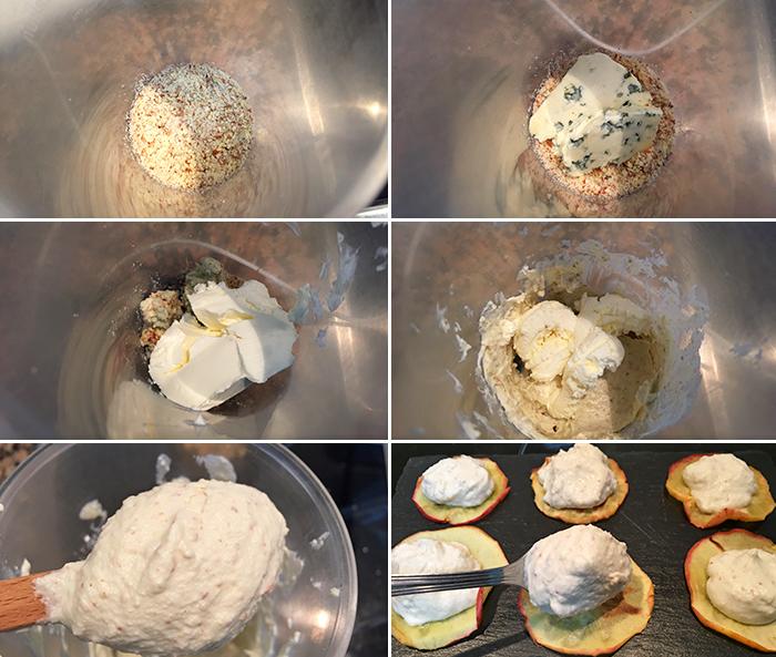 chips crema de queso paso a paso