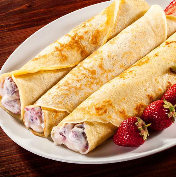 Recetas de 5 ideas para rellenos de crepes dulces divina for Salsa para crepes