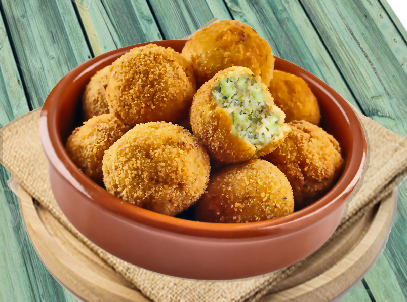Receta De Croquetas De Brócoli Fáciles Divina Cocina