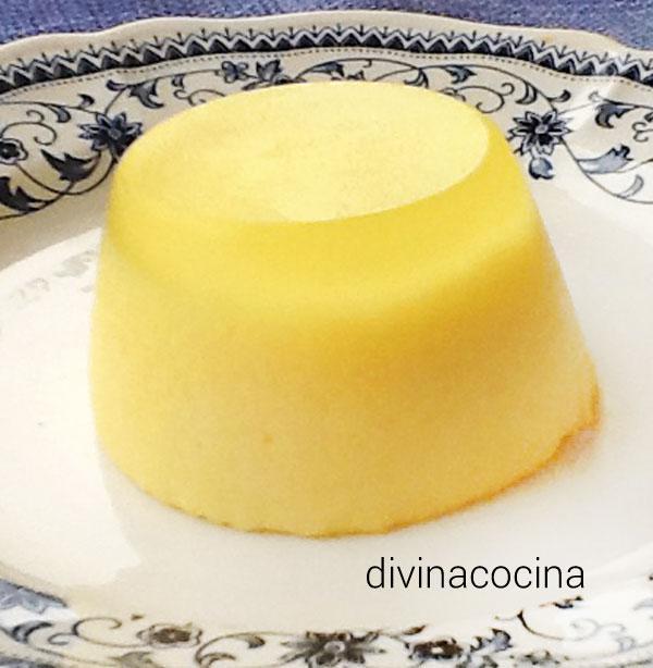 cuajada de leche y limón
