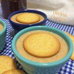 Cuajada de galletas y miel