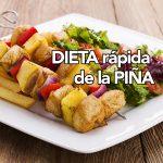 La dieta de la piña
