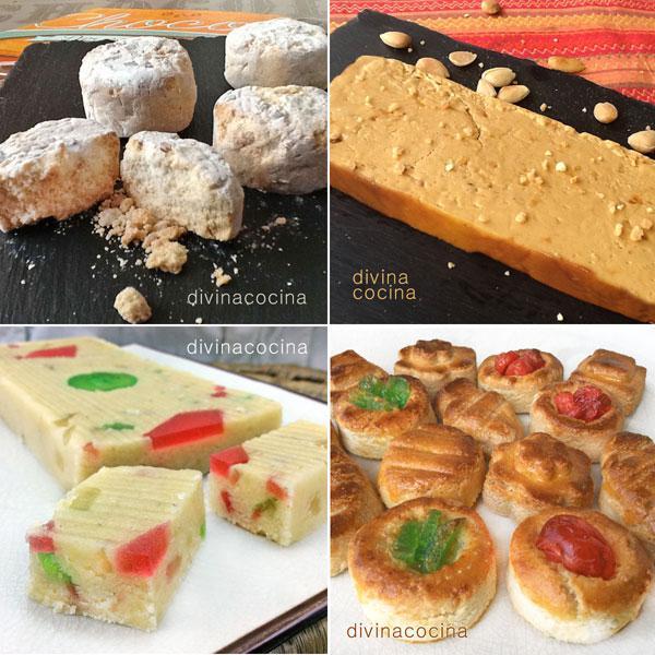 Recetas De 10 Dulces De Navidad Caseros Divina Cocina