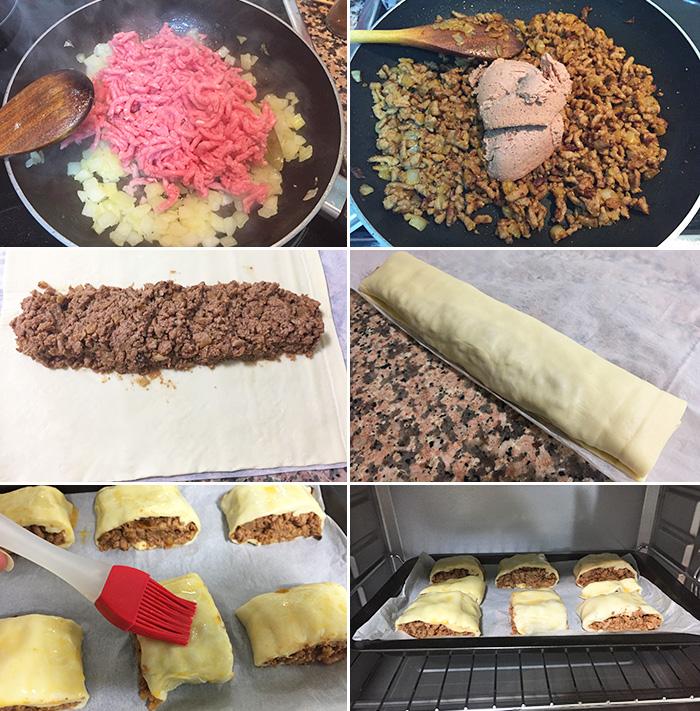receta de empanadas de carne