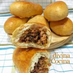 Empanadillas de carne rusas (Piroshki o Perogi)