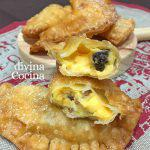 Empanadillas de flan y nueces