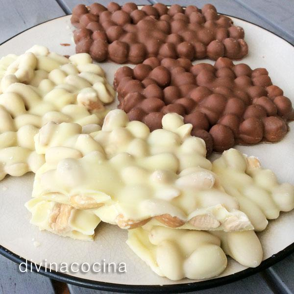Empedrados de chocolate