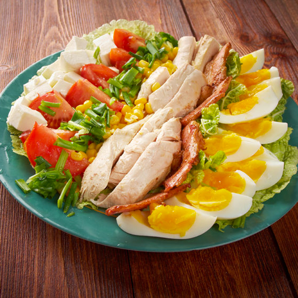receta ensalada cobb