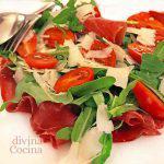Ensalada de jamón al estilo italiano