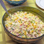 Ensaladilla de arroz (varias ideas)