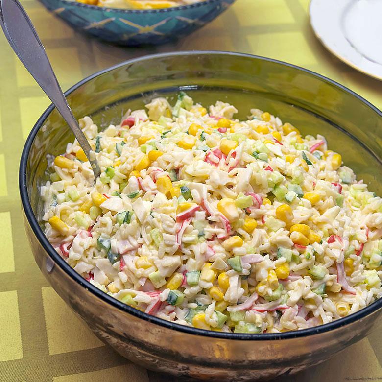 ensaladilla de arroz