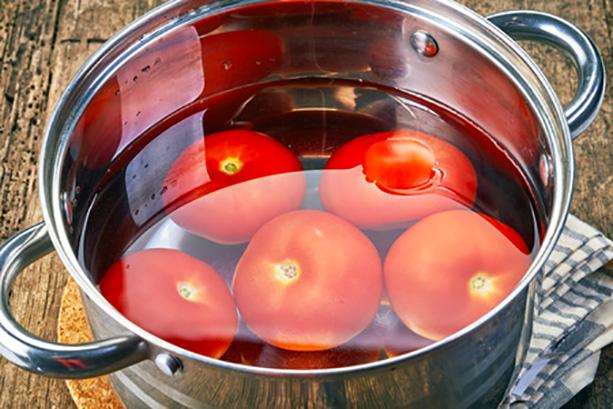 escaldar tomates 3