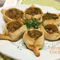 Fatayer (empanadillas De Carne Y Verduras)