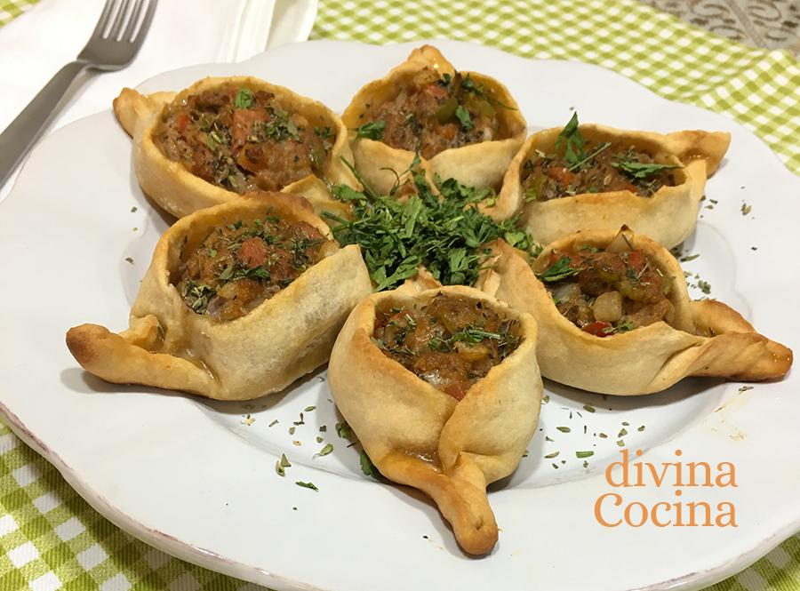 fatayer empanadillas de carne y verduras