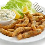 Fingers de pescado empanados