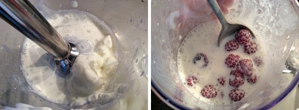 flan de yogur con frutas
