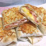 Flautas de jamón y queso