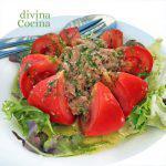 Flor de tomate aliñado